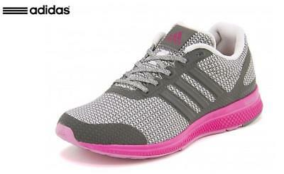 89adaee2a87cd  Adidas  AF4116 Mana Bounce Knit 2.0 Women Running Shoes Sneakers Pink