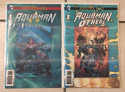 DC Comics New 52 Futures End Aquaman & The Others #1 Hologram Covers