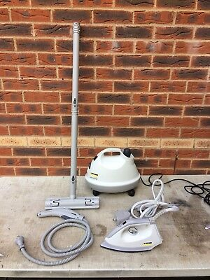 Karcher Vaporapid 1102 Steam Cleaner & Iron.99p Auction