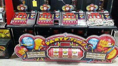 Partytime arena fruit machine accepts new £1 coin (permit number 005955)