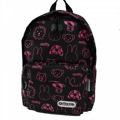 NEW OUTDOOR PRODUCTS BackPack DayPack MIFFY for Children BN803 Black Japan F/S