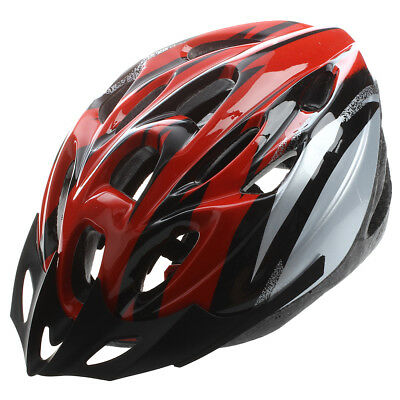 Mountain Road Race Bicycle Bike Cycling Safety Unisex Helmet + Visor L PK Y7A1