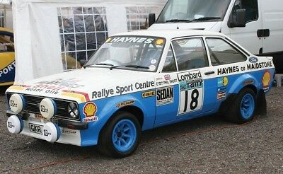 Scalextric Ford Escort MKII #18 HD
