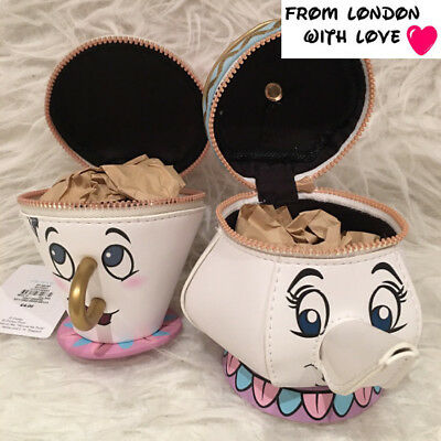 Disney Mrs Potts Beauty And The Beast Primark Teapot Coin Purse Set