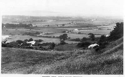 GENERAL VIEW FOYLE VALLEY STRABANE TYRONE IRELAND RP POSTCARD by HARVEY BARTON