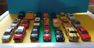 21 Realtoy Toy Cars Joblot