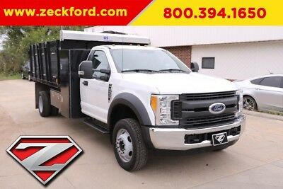 2017 Ford F-550 Chassis XL 6.8L V10 30V Automatic RWD
