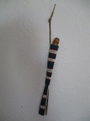 Antique Blackfoot Beaded Awl Case with Antler Awl