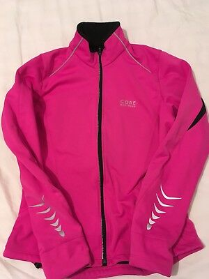 GORE BIKE WEAR ladies windstopper soft shell JACKET size 38/ 12