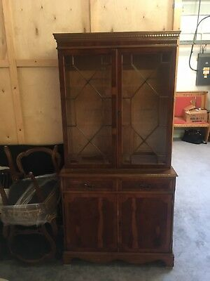 Reproduction Yew French Dresser