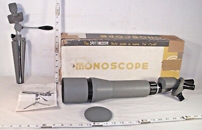 Monoscope Variable Prismatic Spottingscope 15X 20X 30X 40X With Stand Boxed