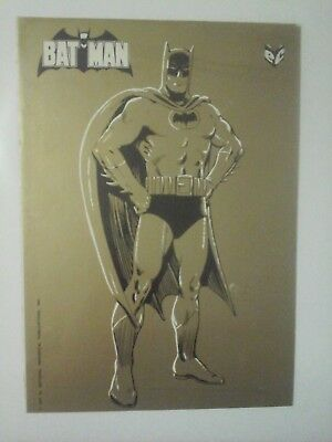 ADESIVO - BATMAN - EDITRICE CENISIO - 1976 by NATIONAL PERIODICAL PUBLICATIONS,