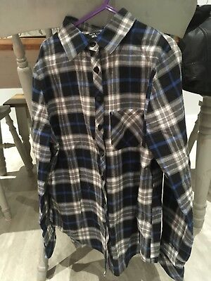 Girls Checked Shirt From New Look Age 9.