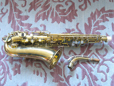 Vintage Holton Revelation alto saxophone, plays but could use work,  very nice!