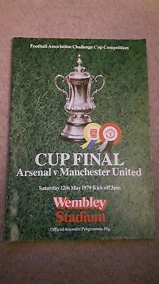 fa cup final programme 1979