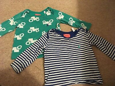 2x Joules 3-6 Months tops