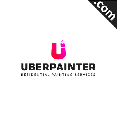 NO RESERVE: UberPainter.com 2 WORD Premium Domain name for Sale with Free Logo
