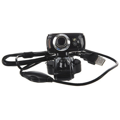 USB 2.0 Interpolation 50.0 M Camera Webcam Web CAM Camera PC Laptop 3 LED M Z8U5