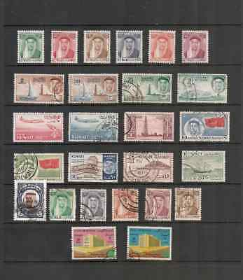 Stamps Kuwait .mint And Used.