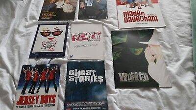 Theatre programmes job lot