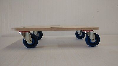HEAVY DUTY 600kg FURNITURE REMOVAL DOLLY Piano POOL TABLE MOVER Trolley Platform