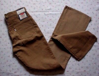 Levi's Strauss Vintage Bell Bottoms 646 Corduroy Flares 33x36 USA Made