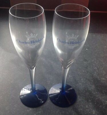 Champagne Flutes Charles Heidsieck Limited Edition