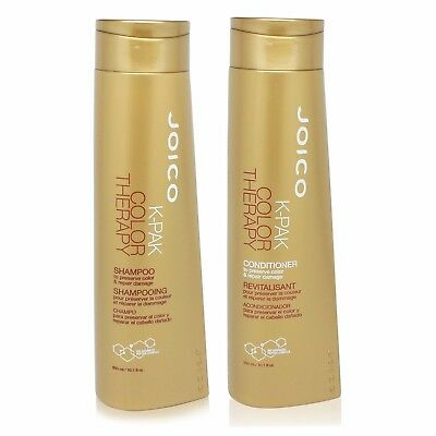 JOICO k-pak color therapy shampoo and conditioner liter duo 33.8 fl oz each