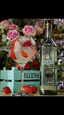Bloom Gin Glass Brand New