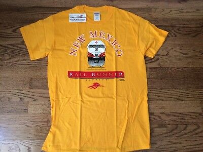 NWT New Mexico Rail Runner Express Train TSHIRT