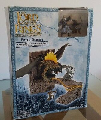 Lord of the Rings Battle Scenes Bridge at Khazad-Dum with Balrog Limited Edition