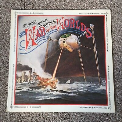 Jeff Wayne's War Of The Worlds Booklet