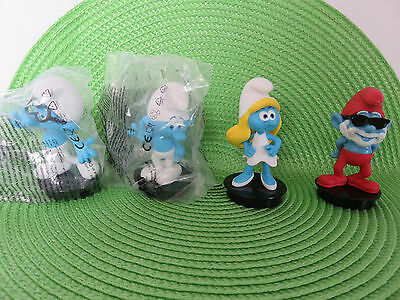 SMURFS The Lost Village Cup Toppers Set of 4