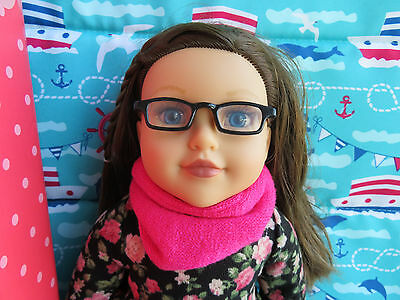 Newberry 18 inch Doll - Jacquie with floral dress, scarf, tights, shoes NEW
