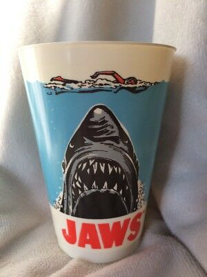 Vintage 1975 JAWS Promotional Movie Cup From 7-11; Very Rare; Great Condition!!!