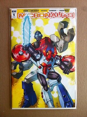 Micronauts (2016) #1 Ri-A 1:25 Incentive Variant Cover Nm 1St Printing Idw