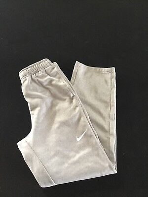 Youth Large Nike Therma Training Pants (light Heather Grey). Excellent Condition