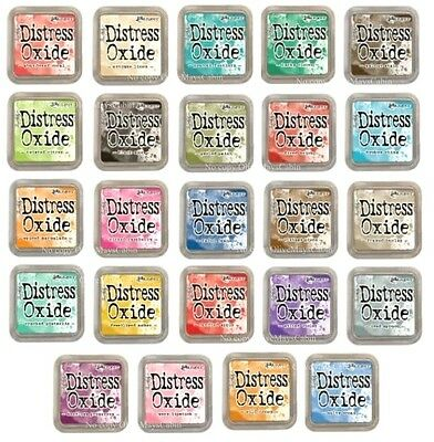 Tim Holtz Distress OXIDE Ranger Ink Pads (Regular big size) NEW COLOURS IN STOCK