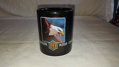 Harley Davidson Eagle Black Coffee Mug Cup 1997