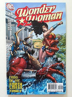 Wonder Woman (2006) #23 Gail Simone Aaron Lopresti Matt Ryan 1St Printing Vf/nm