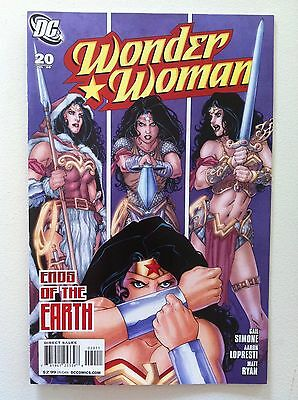 Wonder Woman (2006) #20 Gail Simone Aaron Lopresti 1St Printing Vf+ Movie Dc