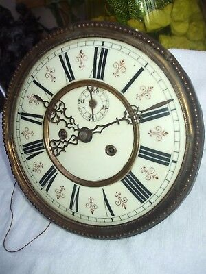 Freiburg Vienna Regulator  Double Weight Driven Wall Clock Movement,face & Hands