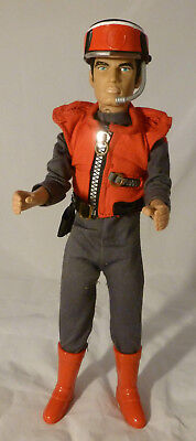 """CAPTAIN SCARLET 12"""" Talking Action Figure Doll Gerry Anderson 2001 VI - Working"""
