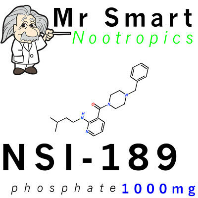 NSI-189 phosphate (1000mg) >99% Certificate of Analysis and free Micro Scoop