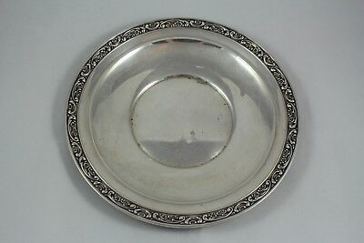 Antique American Sterling Silver GORHAM Plate Dish