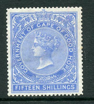 South Africa Cape of Good Hope 1876 15/- fifteen shillings blue Fine fresh mint