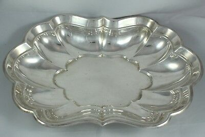 Antique American Sterling Silver Reed & Barton 1939 Tray Platter Dish