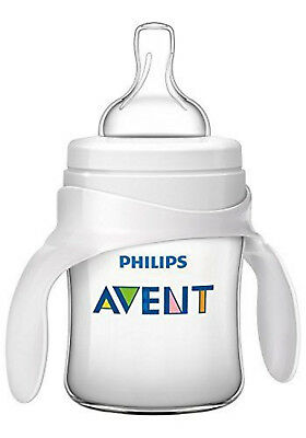 Baby Feeding Bottle to Cup Trainer Kit Philips Avent Classic 4m+
