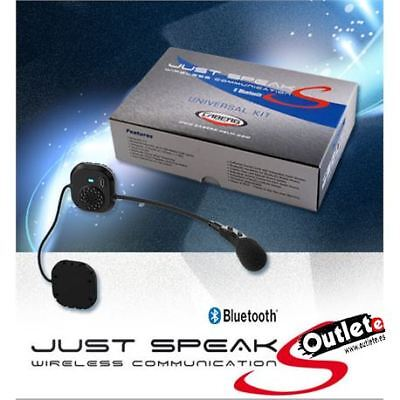Kit Manos Libres Bluetooth Caberg Just Speak S Duke,riviera,tourmax