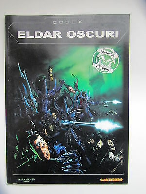 Warhammer 40.000 - Codex Eldar Oscuri 2° Ed. - Ita - Games Workshop 40K